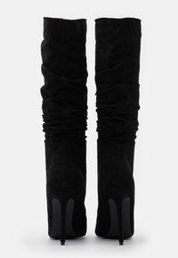 RAID Wide Fit - SELAH - Boots med høye hæler - black - 3
