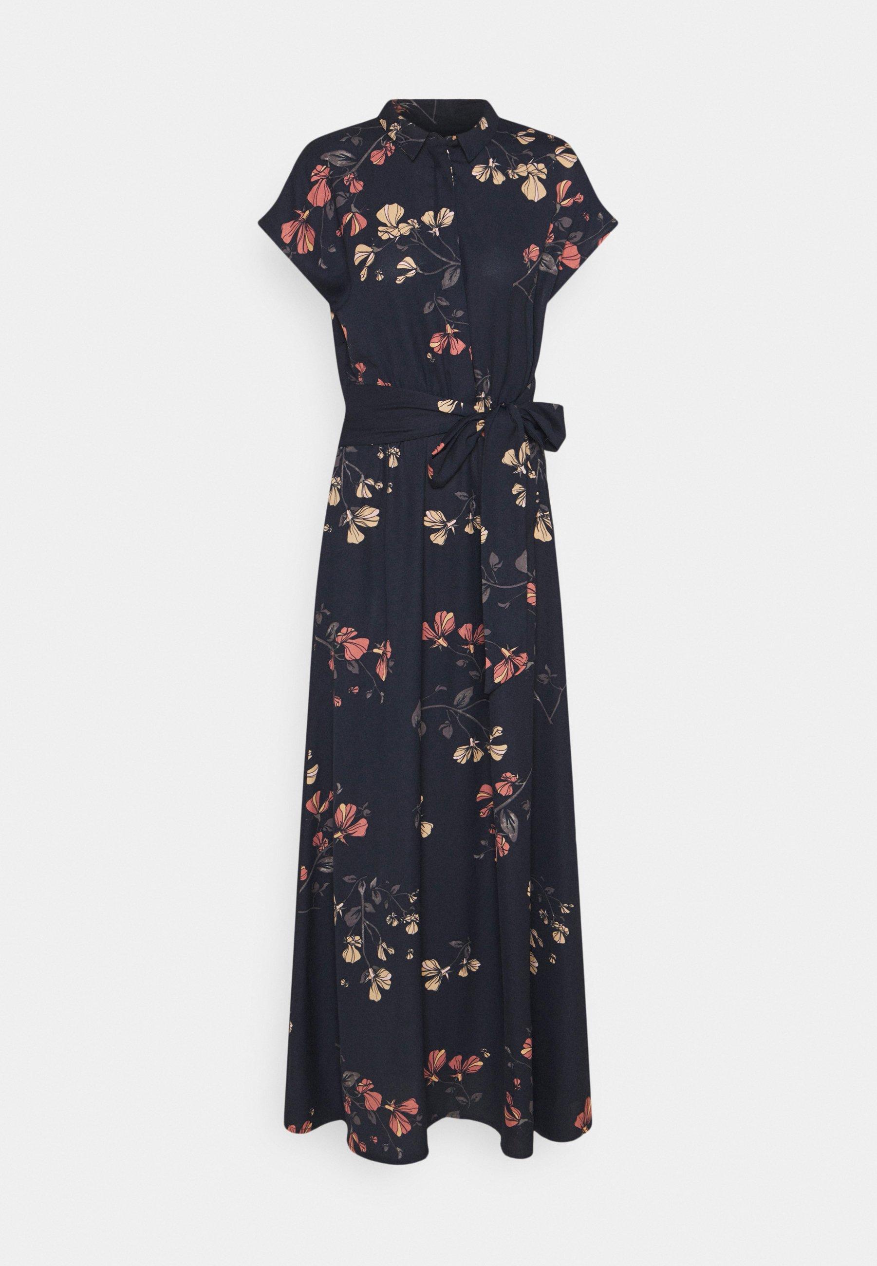 Women VMHALLIE LONG TIE DRESS - Maxi dress