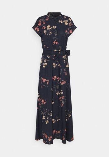 VMHALLIE LONG TIE DRESS - Maxi dress - night sky