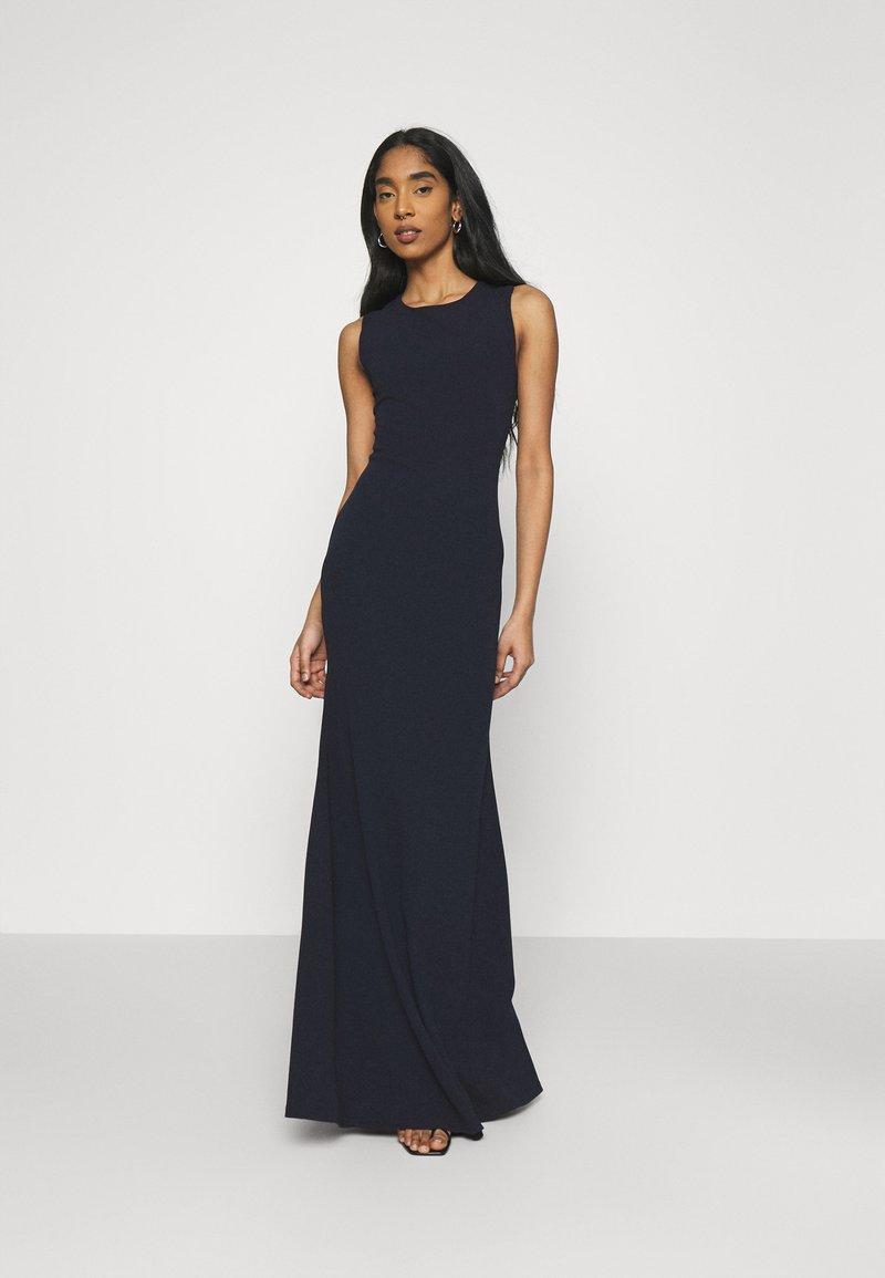 Missguided - CROSS BACK BRIDESMAID DRESS - Robe en jersey - navy