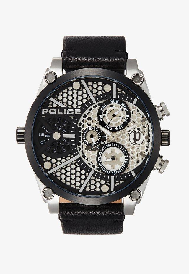 VIGOR - Watch - silver/black