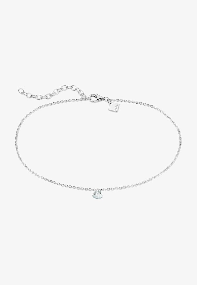Fusskette - Bracelet - silber