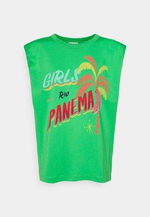 GIRLS RIOIPANEMA GRAPHIC - T-shirts med print - green