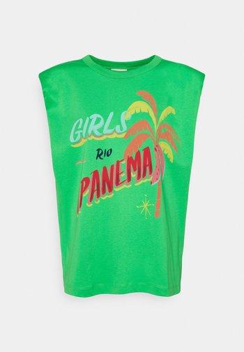 GIRLS RIOIPANEMA GRAPHIC - Print T-shirt - green