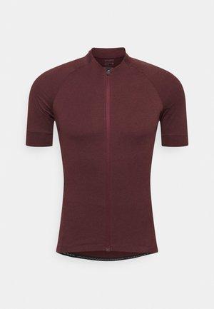NEW ROAD  - T-Shirt print - ox blood heather