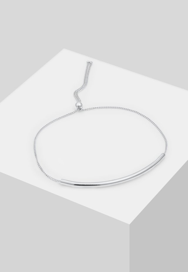 MINIMAL DESIGN VERSTELLBAR - Bracelet - silver-coloured