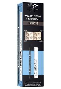 Nyx Professional Makeup - MICRO BROW ESSENTIALS – MIRCRO BROW PENCIL - Makeup set - espresso - 5