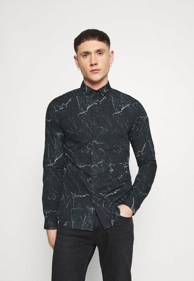 MARON SHIRT - Camicia elegante - black