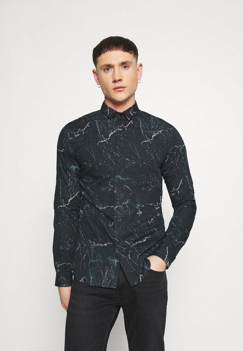 Twisted Tailor - MARON SHIRT - Formal shirt - black