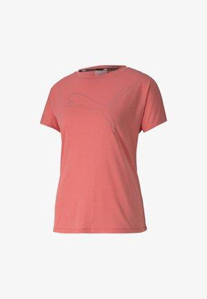 KVINNA - T-Shirt print - ignite pink