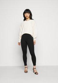 New Look Petite - PONTE - Leggings - Trousers - black - 1