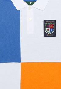 Hackett London - QUAD - Polotričko - blue/orange - 2