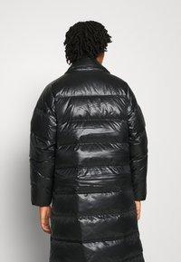 Nike Sportswear - PARKA - Dunkåpe / -frakk - black/mystic stone - 3