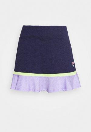 SKORT SELINA - Sports skirt - peacot melange