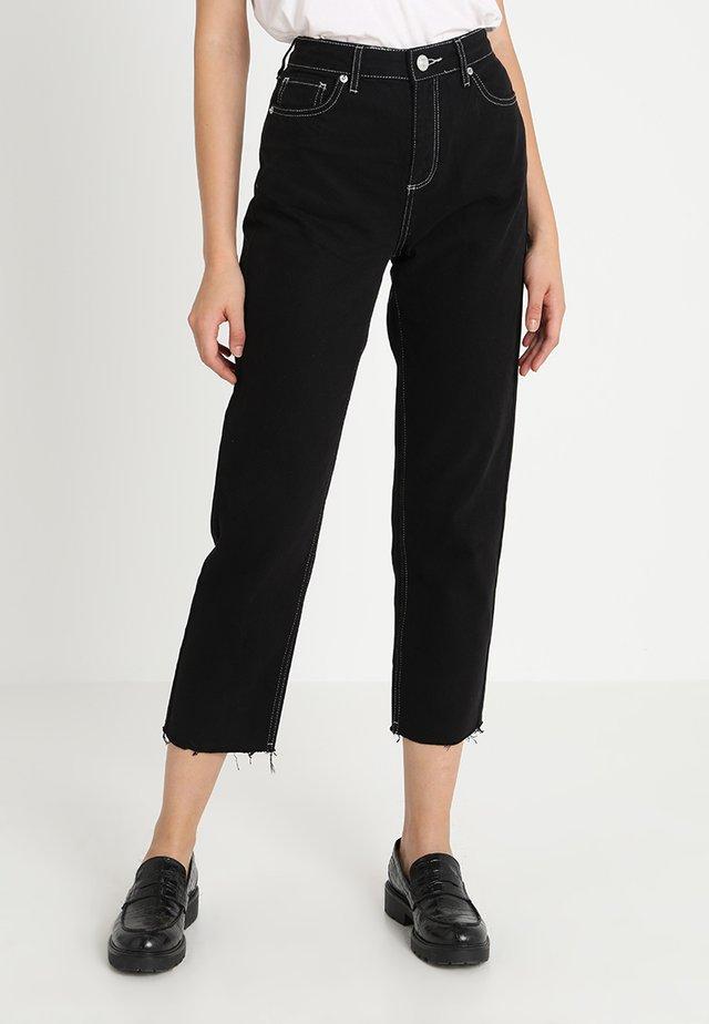 PAX - Jeansy Straight Leg - black