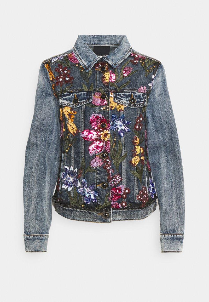 Desigual - CHAQ BALT - Denim jacket - blue
