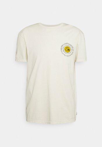 SILENT DUSK SS - Print T-shirt - oatmeal