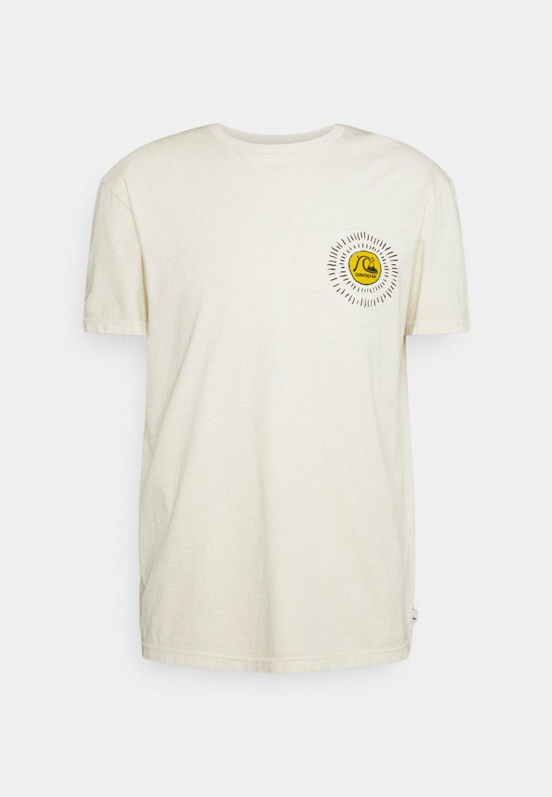 Quiksilver - SILENT DUSK SS - Print T-shirt - oatmeal