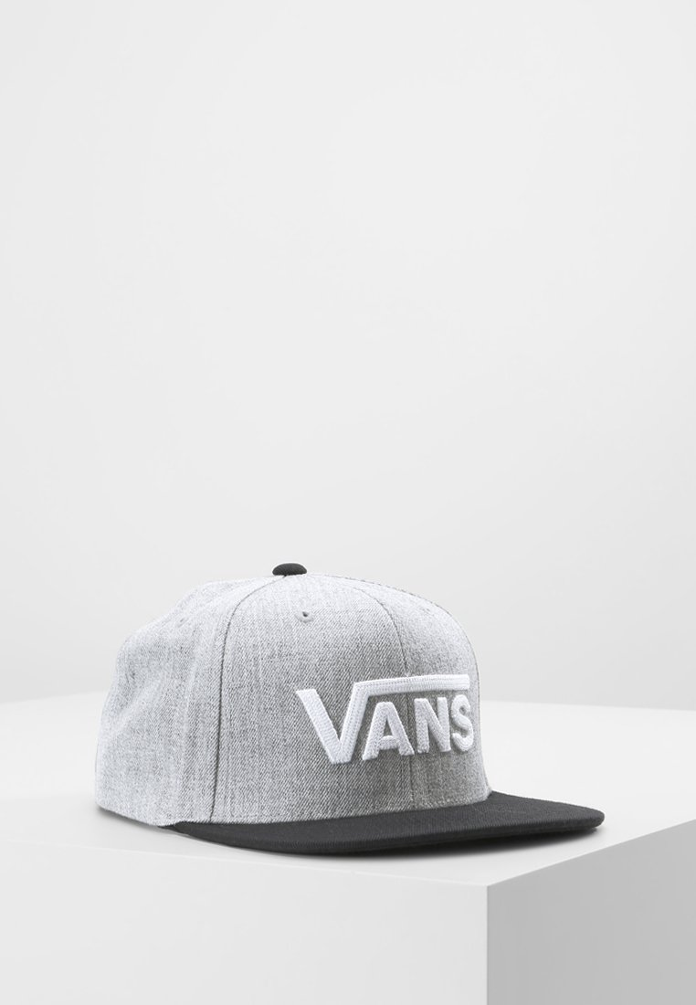 Vans - DROP II SNAPBACK - Caps - heather grey