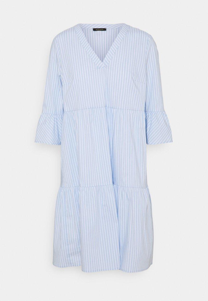 More & More - DRESS SHORT - Day dress - white/multicolor