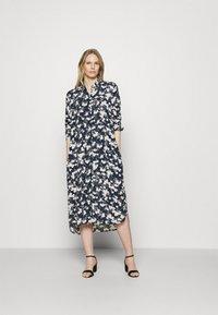Esprit - Shirt dress - dark blue - 0