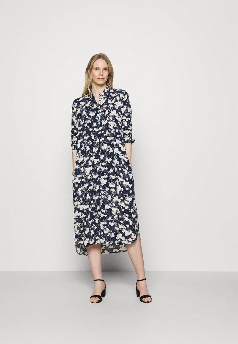 Esprit - Shirt dress - dark blue