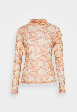 Long sleeved top - light copper