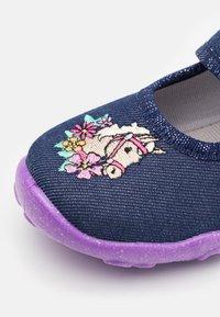Superfit - BONNY - Slippers - blau - 5