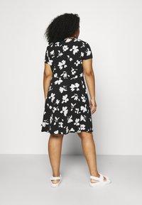 Anna Field Curvy - Day dress - black/white - 2