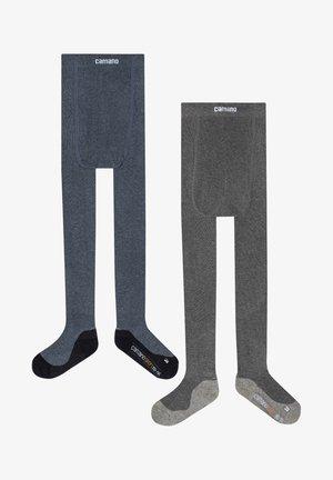 2 PACK - Leg warmers - navy