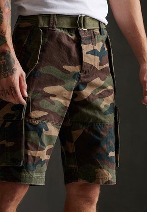 CORE HEAVY - Shorts - colarado camo