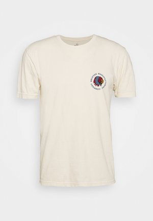 RIVAL STAMP - Print T-shirt - ivory