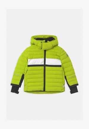 ALKHORNET UNISEX - Kurtka snowboardowa - lime green