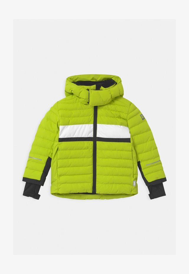ALKHORNET UNISEX - Giacca da snowboard - lime green