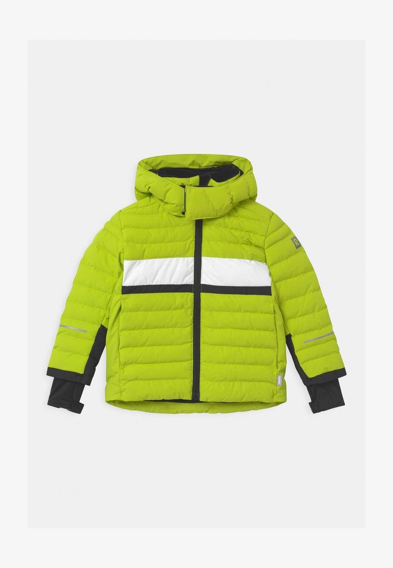Reima - ALKHORNET UNISEX - Snowboardová bunda - lime green