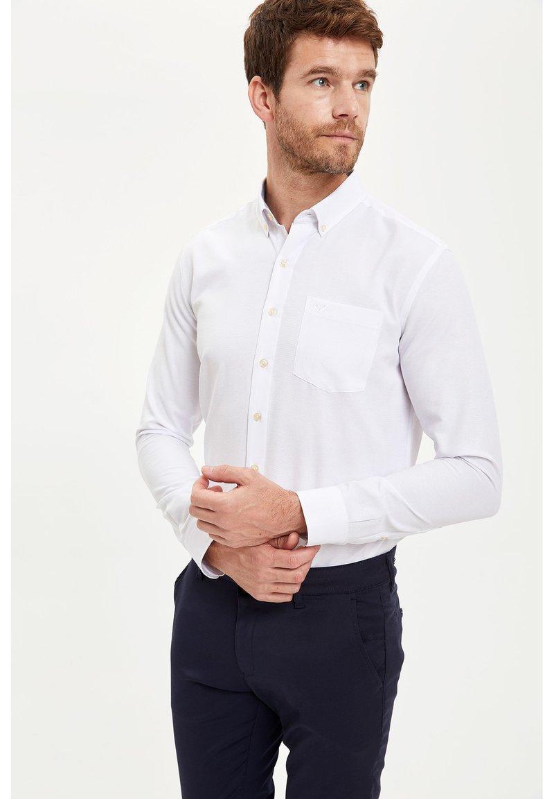 DeFacto - Shirt - white