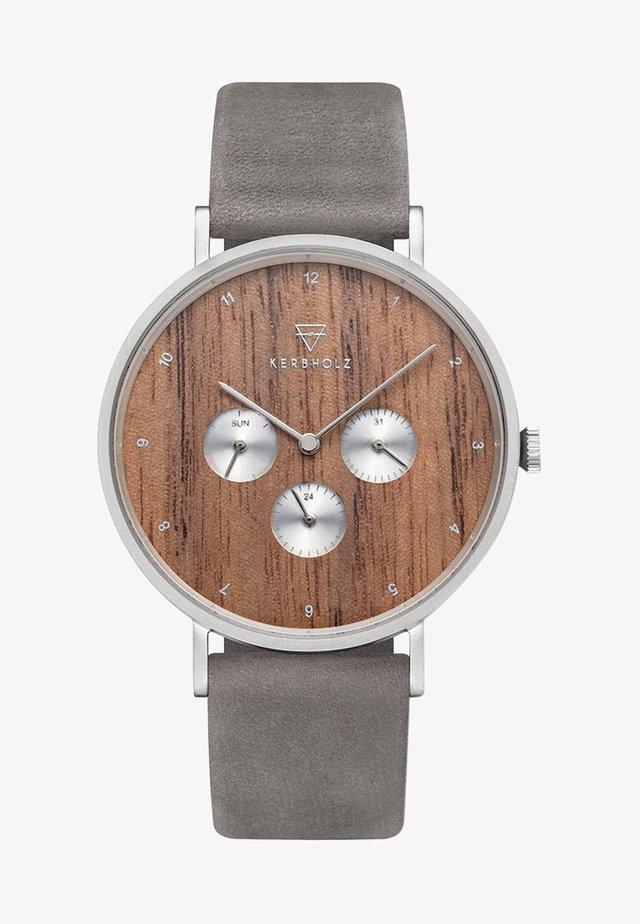 CASPAR - Chronograph watch - grey