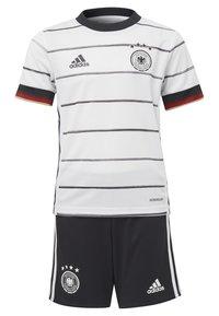 adidas Performance - DEUTSCHLAND DFB HEIMTRIKOT MINI - Oblečení národního týmu - white/black - 0