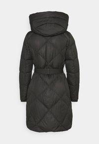 Lauren Ralph Lauren - MATTE FINISH COZY BELTED COAT - Down coat - black - 1