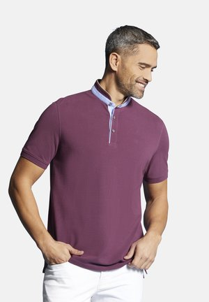 Polo shirt - brombeere