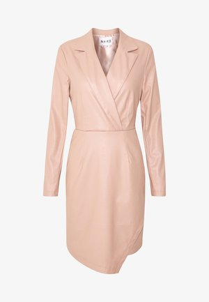 BLAZER DRESS - Sukienka koktajlowa - dusty pink