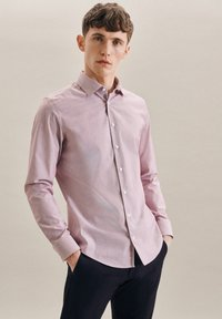 Seidensticker - BUSINESS - Formal shirt - rot - 0