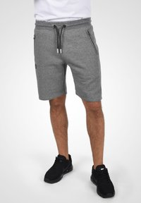 Solid - RAFIK - Shorts - dark grey melange - 0