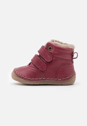 PAIX SHOES WIDE FIT UNISEX - Korte laarzen - bordeaux
