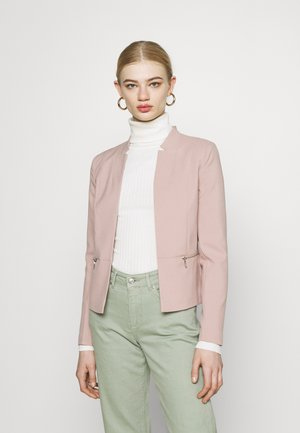 ONLMADDY SHORT ZIP BLAZER  - Blazer - adobe rose