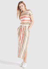 khujo - DOREEN - Maxi dress - mehrfarbig gestreift - 3