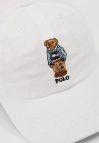 Polo Ralph Lauren - SPORT APPAREL ACCESSORIES HAT - Kšiltovka - white - 2