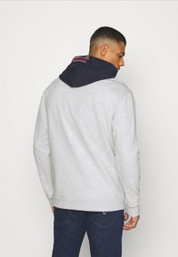Tommy Jeans - CONTRAST HOOD GRAPHIC HOODIE UNISEX - Sweatshirt - twilight navy/silver grey - 2
