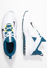 Nike Performance - AIR MAX ALPHA TRAINER 2 - Sports shoes - white/black/blue force/dynamic yellow - 1