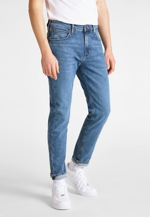 AUSTIN - Jeans Tapered Fit - lt worn foam